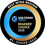 USA Today Reader's Choice 2018 Best Wine Region
